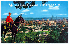 Montreal - Canada's Metropolis from Mount Royal Lookout Prior to 1958. And the First Submarine to Cross the North Pole. (pepandtim) Tags: postcard old early nostalgia nostalgic montreal canada metropolis mount royal lookout montroyal souvenir agencies bleury street eddie parsons jack wexler printed usa lachine quebec 01081958 1958 34mcm94 jones gables ankerbold road tupton chesterfield derbyshire england laurentians lakes valleys iris uss nautilus north pole nuclear powered submarine transit 1870 jules verne 1954 1980 1982 operation sunshine icbm sputnik greenland gyrocompass beaufort gyre circle