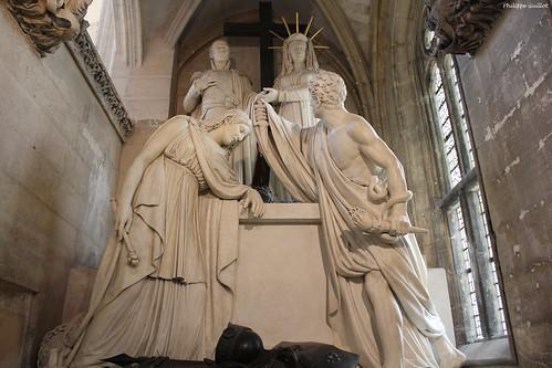 Le tombeau du duc d'Enghien