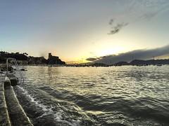 Tramonto a Lerici (vannuc) Tags: panorama weekend gopro italy liguria mare sea sun tramonto sunset lerici