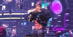 Code:Error 404 (Hүυη Ʀαyηε (hyunshiksantosh)) Tags: cyberpunk smoke gadget secondlife kuni cigarette scifi virtual signature catwa represent hologram bionic robot punk