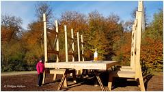 La Table des Géants  ²Forêt Verte (philippedaniele) Tags: forêtverte forêt exposition dart oeuvresmonumentales créateurs créateurscontemporains seine maritime
