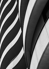 Ripples (Joseph Pearson Images) Tags: building architecture abstract london riverwalkapartments blackandwhite mono bw