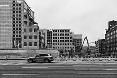 Dead Windows (michael_hamburg69) Tags: hamburg germany deutschland hansestadt innenstadt hochhaus grau cityhochhäuser cityhof 1958 architekt architect rudolfklophaus klosterwall abris abgerissen gebäude demolition