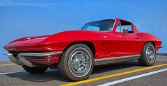 Little Red Corvette (Scott 97006) Tags: car sportscar corvette vette automobile vehicle red wheels classic