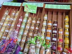 248 France - Bourgogne, Dijon, les Halles, la moutarde (paspog) Tags: france bourgogne dijon august août 2019 halles marché market markt moutrarde mustard