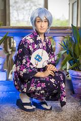_MG_3128 (Mauro Petrolati) Tags: altea rei ayanami cosplay cosplayer lucca comics games 2019 palazzo pfanner kimono yukata version neon genesis evangelion first children best grill girl