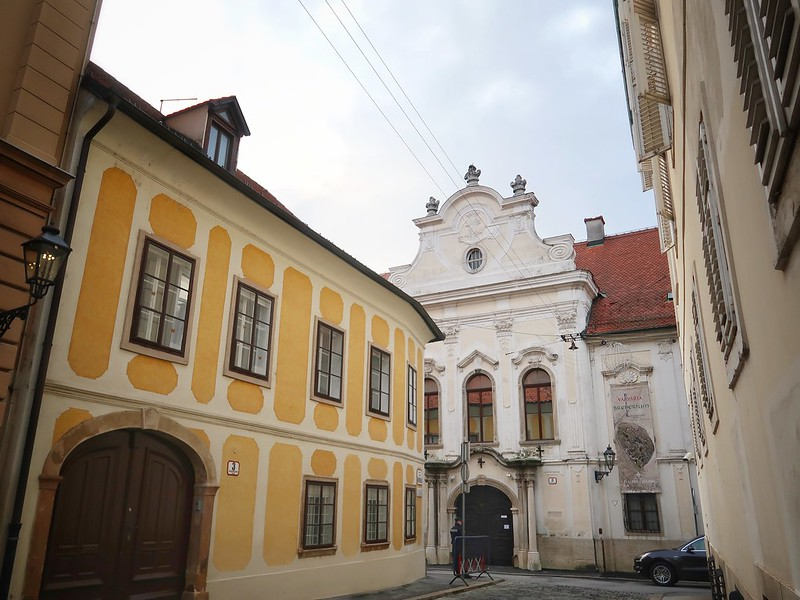 Zagreb. Saint Mark. Sv Marka. Museum of Illusion.
