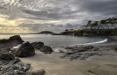 The beach at East Looe, Cornwall (Baz Richardson) Tags: cornwall looe eastlooe beaches seaside coast rocks