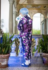 _MG_3130 (Mauro Petrolati) Tags: altea rei ayanami cosplay cosplayer lucca comics games 2019 palazzo pfanner kimono yukata version neon genesis evangelion first children best grill girl
