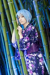 _MG_3162 (Mauro Petrolati) Tags: altea rei ayanami cosplay cosplayer lucca comics games 2019 palazzo pfanner kimono yukata version neon genesis evangelion first children best grill girl