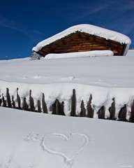 IMGP4153 Love snow (Claudio e Lucia Images around the world) Tags: alpedisiusi valgardena dolomiti alpe di siusi val gardena snow winter mountains adler lodge ortisei sassolungo sassopiatto sky christ cross pentax pentaxk3ii pentaxcamera pentaxlens pentaxart cold unesco pentax18135 gröden sciliar clouds tree sella sellagroup snowstorm sunrise woods sign love hart