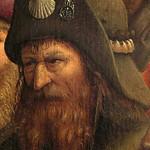 03k Гентский алтарь Фрагмент, паломник