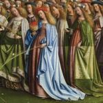03d Гентский алтарь Центральный образ. Св. жены