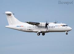 F-WWLP ATR42 Easyfly (@Eurospot) Tags: atr toulouse blagnac atr42 1415 fwwlp hk5341 atr42600 easyfly