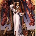 16а Ван дер Вейден Алтарь страшного суда, фрагмент