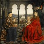 09 Ян ван Эйк. Мадонна канцлера Никола Ролена, ок.1435. Лувр
