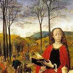 38а Гуго ван дер Гус. Алтарь Портинари, фрагмент правой створки, ок. 1477. Уффици