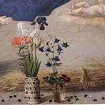 38в Гуго ван дер Гус. Алтарь Портинари (Поклонение Пастухов). Фрагмент,ок. 1477. Уффици