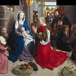 35 Гуго ван дер Гус - Поклонение королей (алтарь Монфорте), 1470. Берлинская галерея
