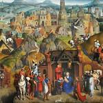 30а Ханс Меммлинг Семь радостей Марии, фрагмент 1, 1480. Мюнхенская Пинакотека