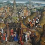 30 Ханс Меммлинг Семь радостей Марии, 1480. Мюнхенская Пинакотека