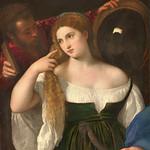 51 Тициан. Женщина перед зеркалом, 1514-1515. Лувр