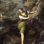 63 Тициан. Св.Маргарита, 1565, Прадо