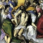 82 Эль Греко. Св.Троица 1577-79. Прадо
