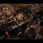81 Якопо Тинторетто. Тайная вечеря, 1592-1594. Церковь С-Джорджо Маджоре. Венеция