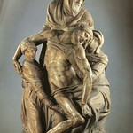 82а Микеланджело. Снятие с креста , 1550. Музей  dell'Opera del Duomo, Флоренция