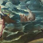 79 Тинторетто. Христос на Тивериадском озере, 1580. Нац. галерея, Вашингтон