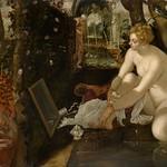 73 Якопо Тинторетто. Сусанна и старцы, 1555. Музей истории искусств, Вена
