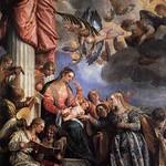 66 Паоло Веронезе. Мистический брак св. Екатерины, 1575. Галерея Академии, Венеция