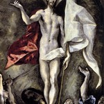 95а Эль Греко. Воскресение, фрагмент