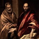 87 Эль Греко. Апостолы Петр и Павел, 1587-92. Эрмитаж