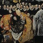 86а Эль Греко. Погребение графа Оргаса, земной план