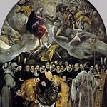 86 Эль Греко. Погребение графа Оргаса, 1586-88. Ц-вь св.Фомы, Толедо