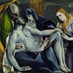 85 Эль Греко. Снятие с креста 1578-85