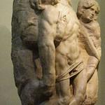 85а Микеланджело. Снятие с креста, 1555. Галерея Академии