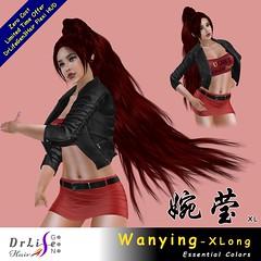 DrLifeGen3Hair-Wanying-XLong (DrLifeGen3Hair SecondLife) Tags: secondlife sl drlifegen3hair drlifegen3 drlife hair flexi slhairstyle flexihair