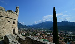 Riva del Garda - Bastione (cnmark) Tags: italy italia rivadelgarda view overview landscape landschaft city town mountains berge italien trentino aussicht bastione fortress festung ancient ©allrightsreserved