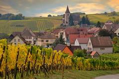 Hunawihr (Alsace, F) (pietro68bleu) Tags: alsace hautrhin village automne vignoble églisefortifiée