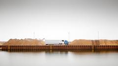 Berlin´s Exurbs | Berliner Speckgürtel 1 (Bernd Walz) Tags: harbor truck canal berlin´sexurbs humanlytransformedlandscape artificiallandscape newtopographics landuse havelland brandenburg binnenhafen wustermark fineart berndwalz