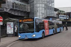 Mercedes-Benz Citaro O 530 G C2  WSW 1374 met kenteken W-SW 1374 als lijn 618 naar Wuppertal Langerfeld in bus station Wuppeltal Bahnhof 09-11-2019 (marcelwijers) Tags: mercedesbenz citaro o 530 g c2 wsw 1374 met kenteken als lijn 618 naar wuppertal langerfeld bus station wuppeltal bahnhof 09112019 wuppertaler stadtwerke öpnv geledebus gelendbus linienbus lijnbus stadtbus stadsbus coach autobus busse buses nrw germany allemagne deutschland duitsland