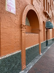 Architectural Detail Former Andes Apartment Building Little Havana 1926 (Phillip Pessar) Tags: architectural detail former andes apartment building little havana architecture miami 1926
