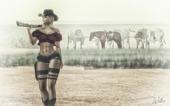 [ Far West ] (willow.kwan) Tags: willow kwan secondlife second life digital art 3d avatar maitreya genus doux
