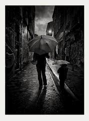 Rainy day (streetspirit13) Tags: rainyday bnwphotographer bnwphotography bnwstreetphoto blackandwhite noiretblanc streetpassionaward streetphotographer rawstreet