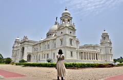 Beautiful two (SANAND K) Tags: kolkata india sanand sanjana love beautiful monument incredibleindia indiatourism colonial