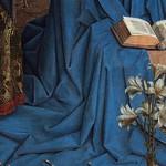 08b Ян ван Эйк - Благовещение, фрагмент