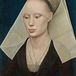 18 Рогир ван дер Вейден. Женский портрет, 1455. Нац. галерея, Вапшингтон